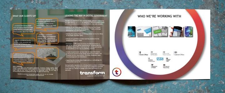 Transform brochure