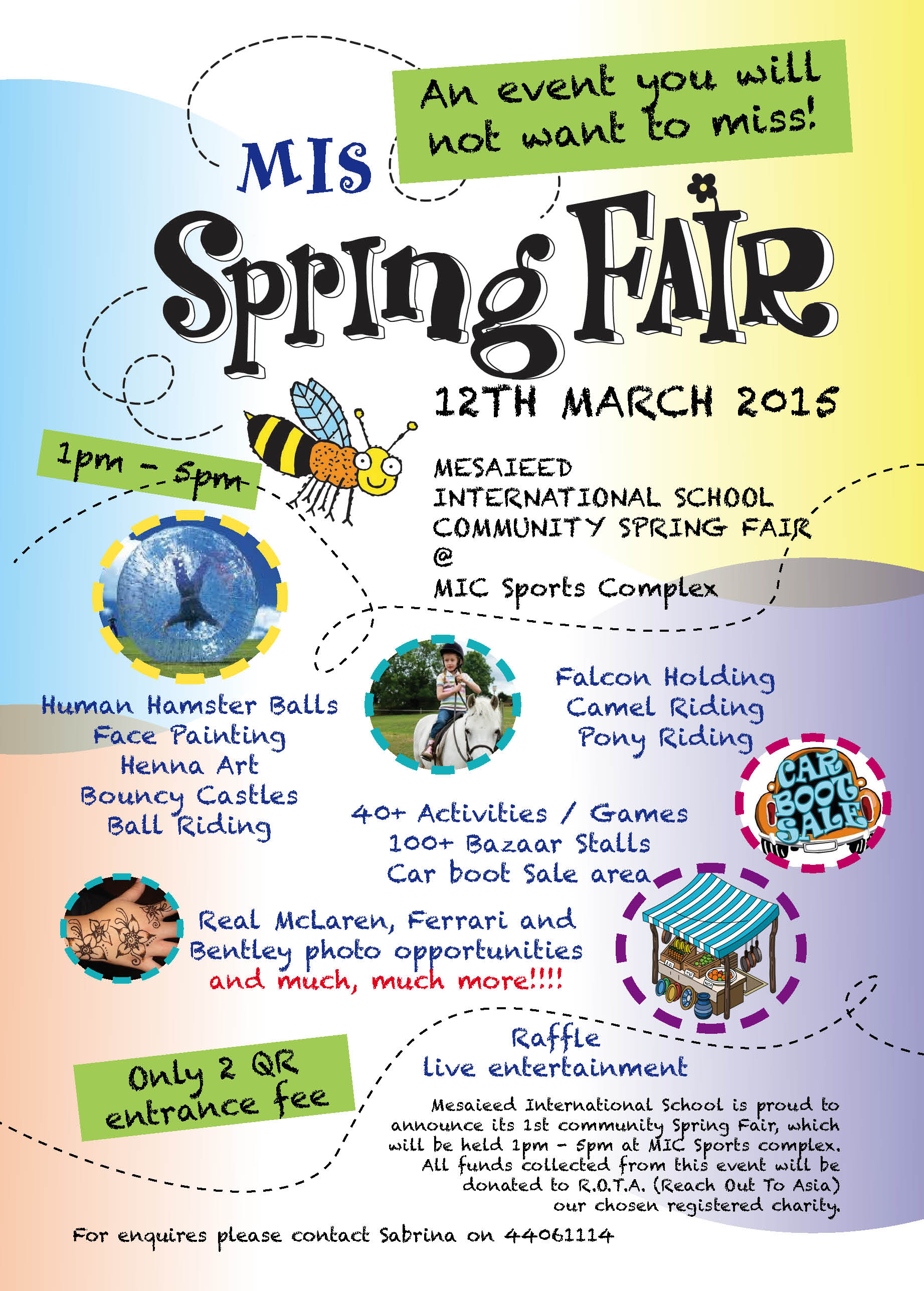 Flyer Spring Fair