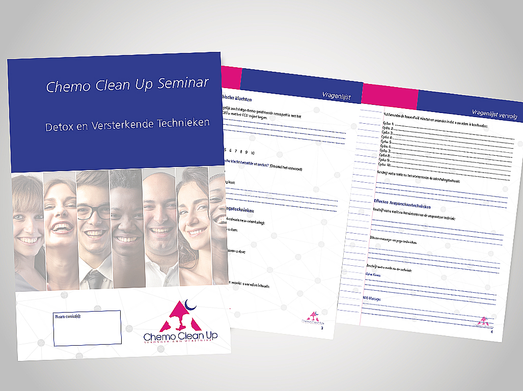 Chemo Clean Up brochure