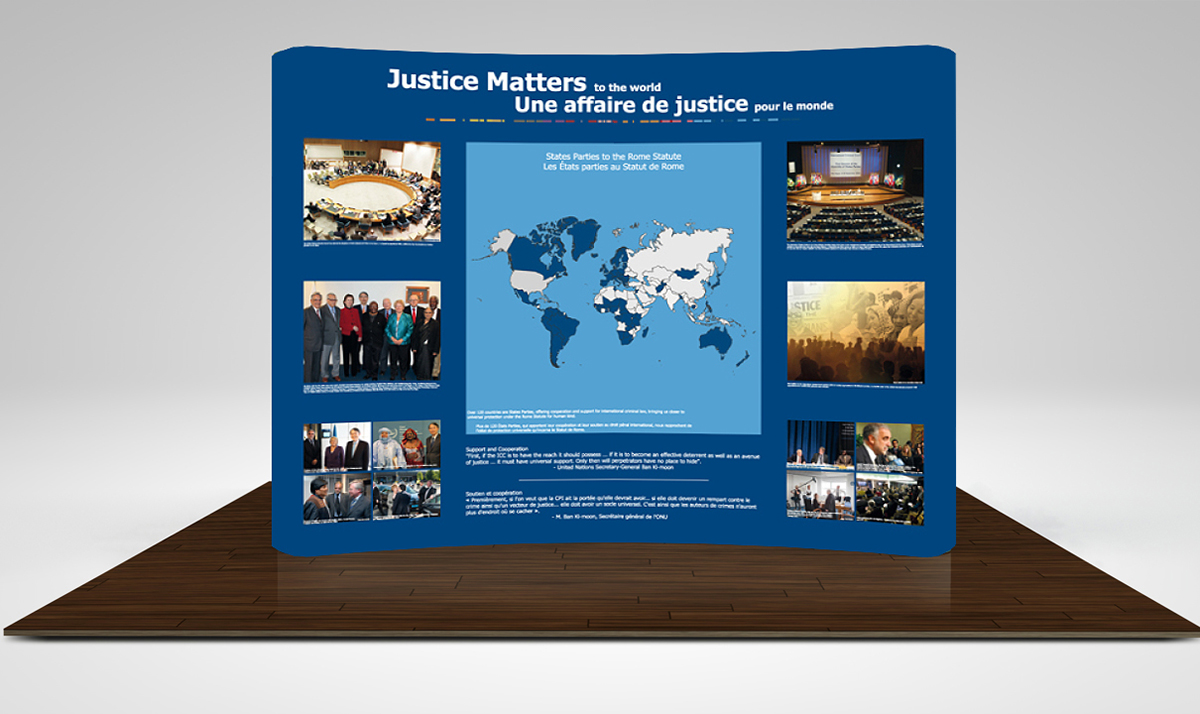 Justice Matters backdrop